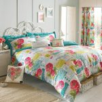 Bright Colorful Bedding Sets Curtain