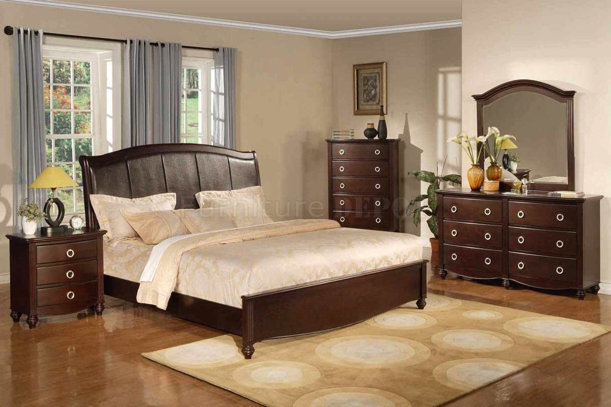Image of: Brown Bed Sets and Furniture