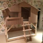 Build Treehouse Bunk Bed