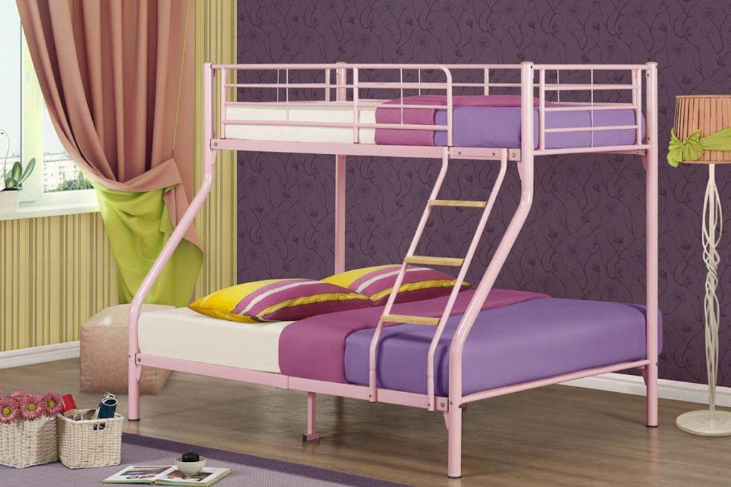 Image of: Bunk Bed Set Mattress Included