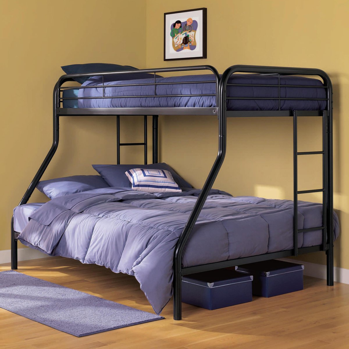 Image of: Bunk Bed Set Size