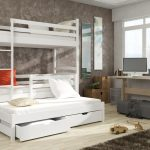 Bunk Bed With Trundle Color