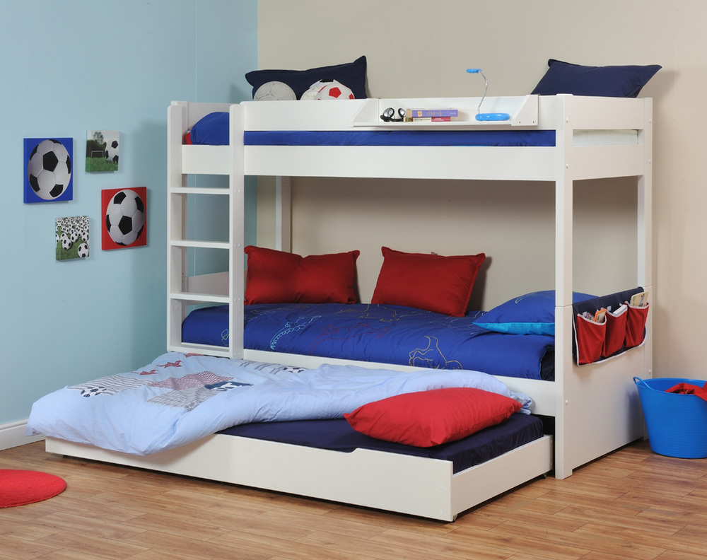 Image of: Bunk Bed with Trundle Home