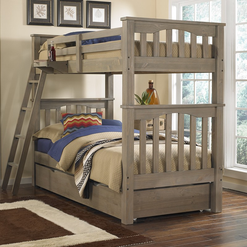 Image of: Bunk Bed With Trundle Small