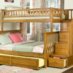 Bunk Beds with Trundle and Stair Drawer