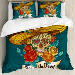Buy Day of the Dead Bed Set
