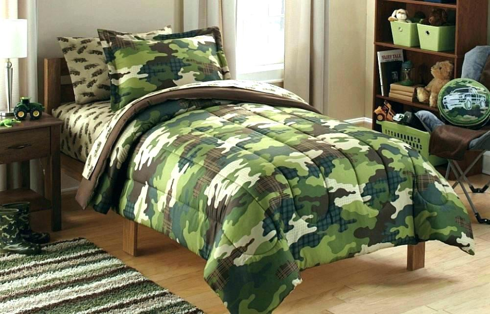 Image of: Camouflage Bedding for Boys