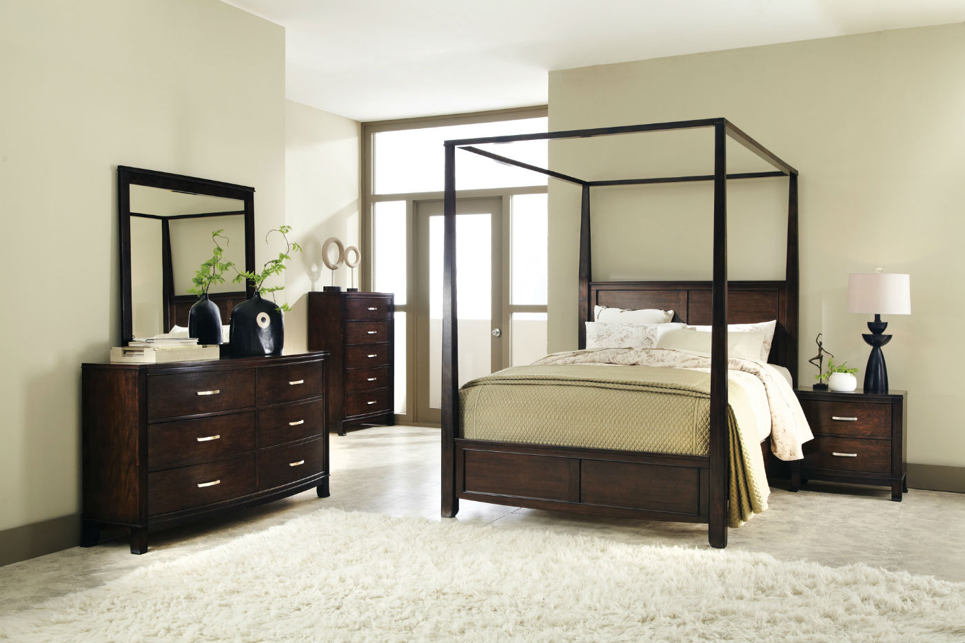Image of: Canopy Bed Set Furniture
