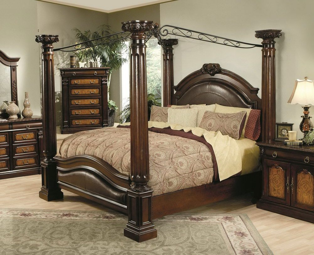 Image of: Canopy Bed Set Ideas