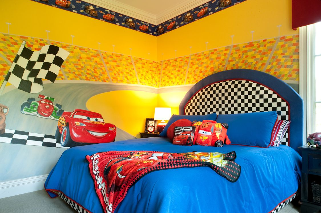 Image of: Cars Bed Set Adorable