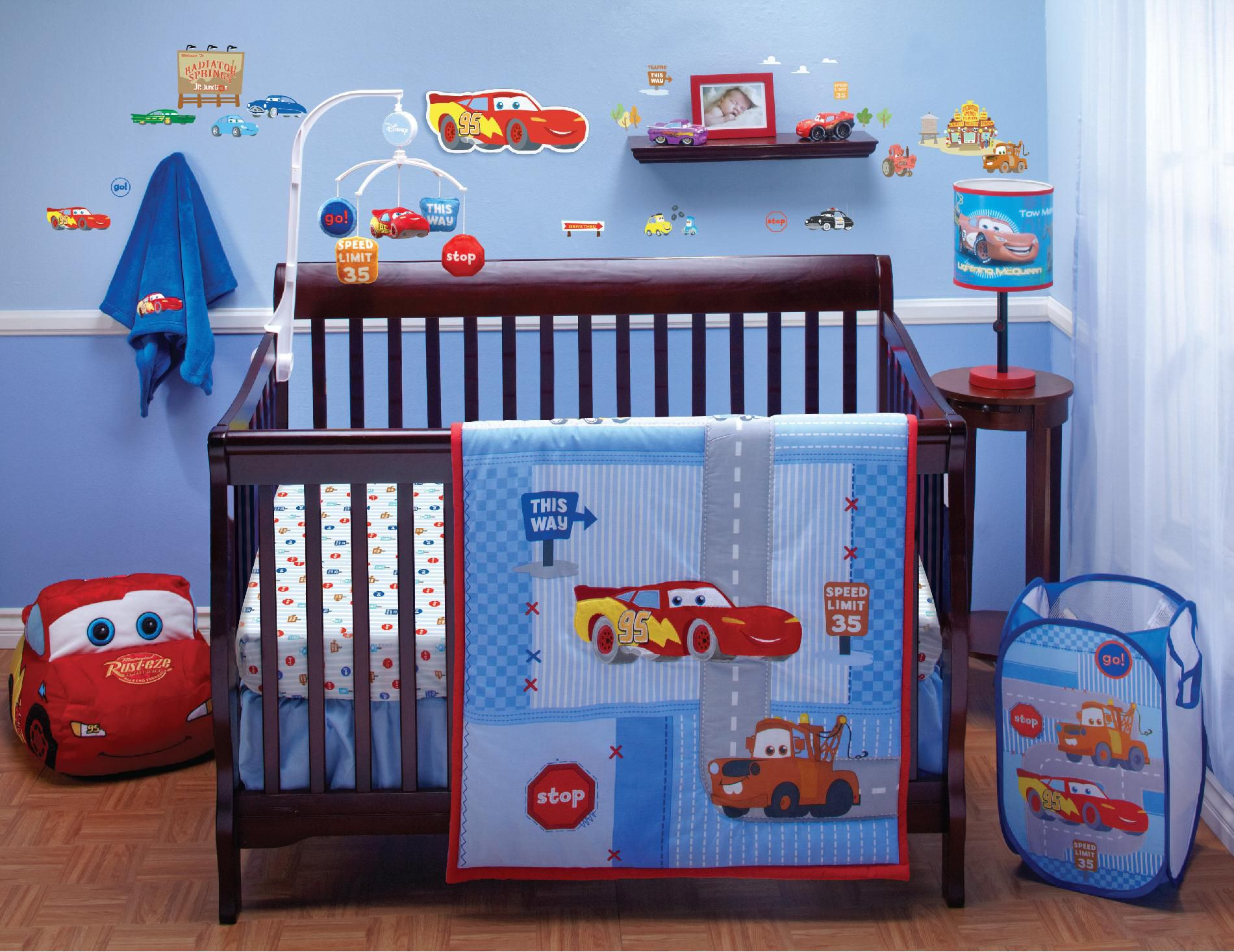 Image of: Cars Bed Set Baby
