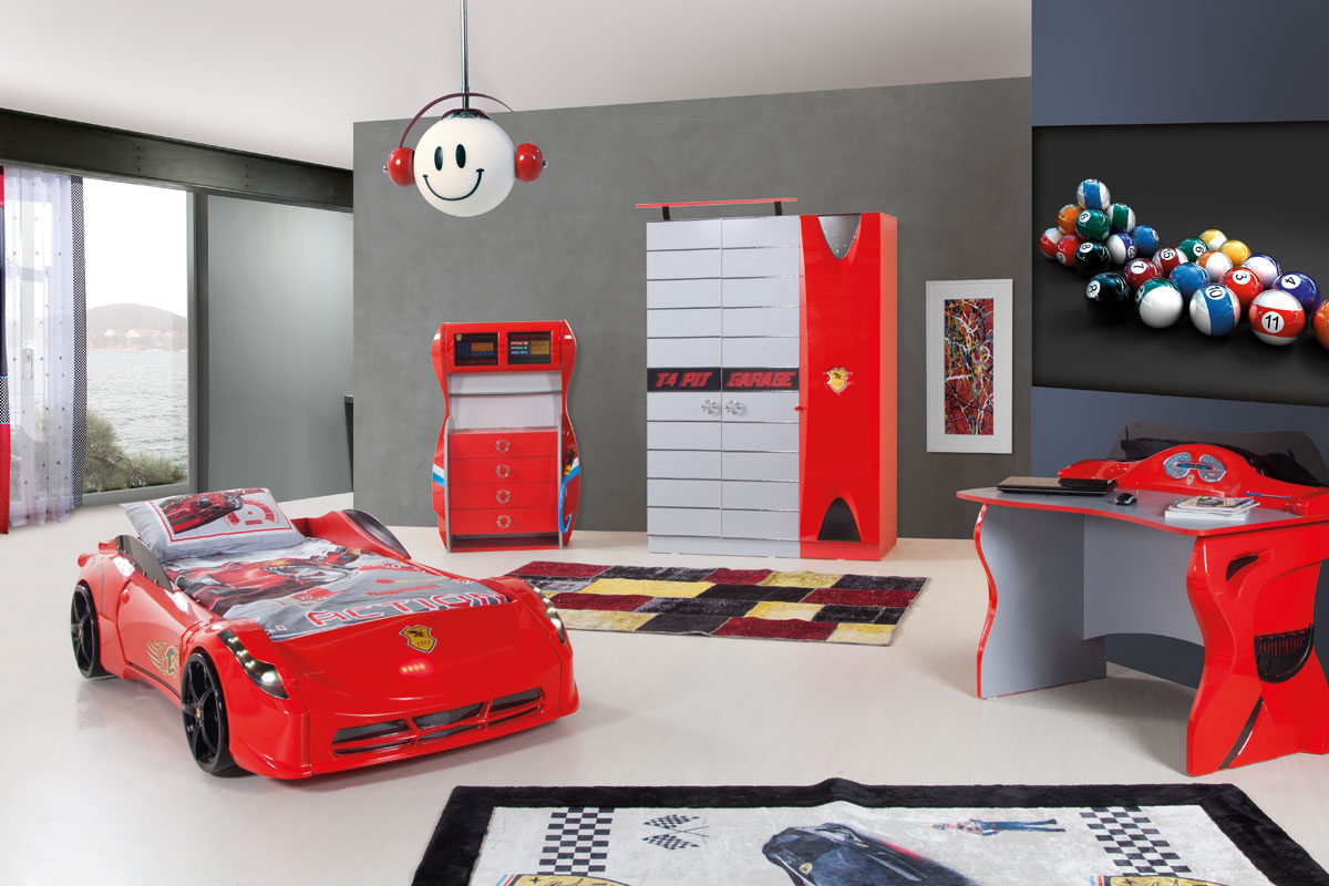 Image of: Cars Bed Set Ideas