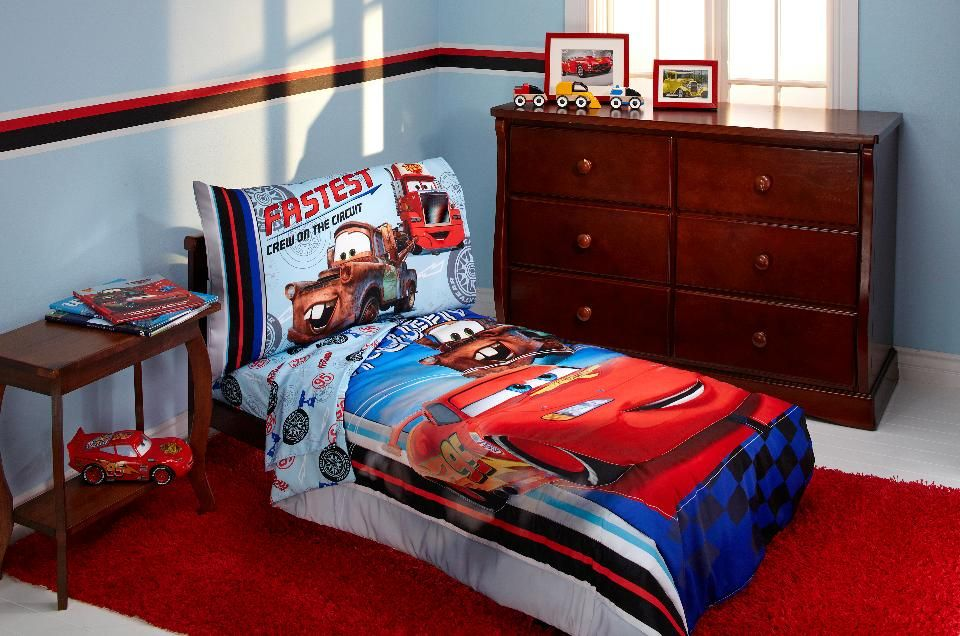Image of: Cars Bed Set Innovative