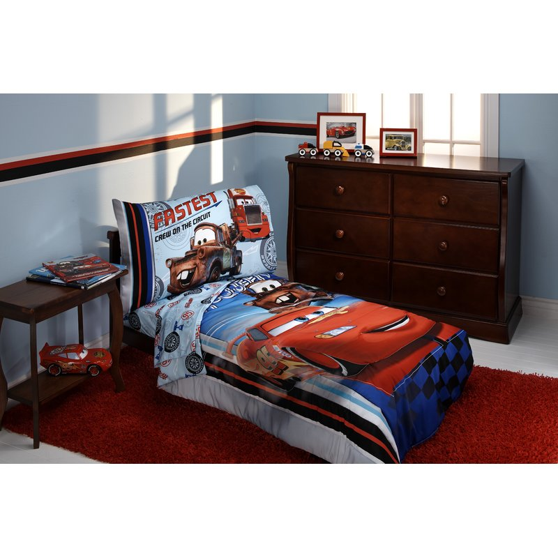 Image of: Cars Bedding Set Small