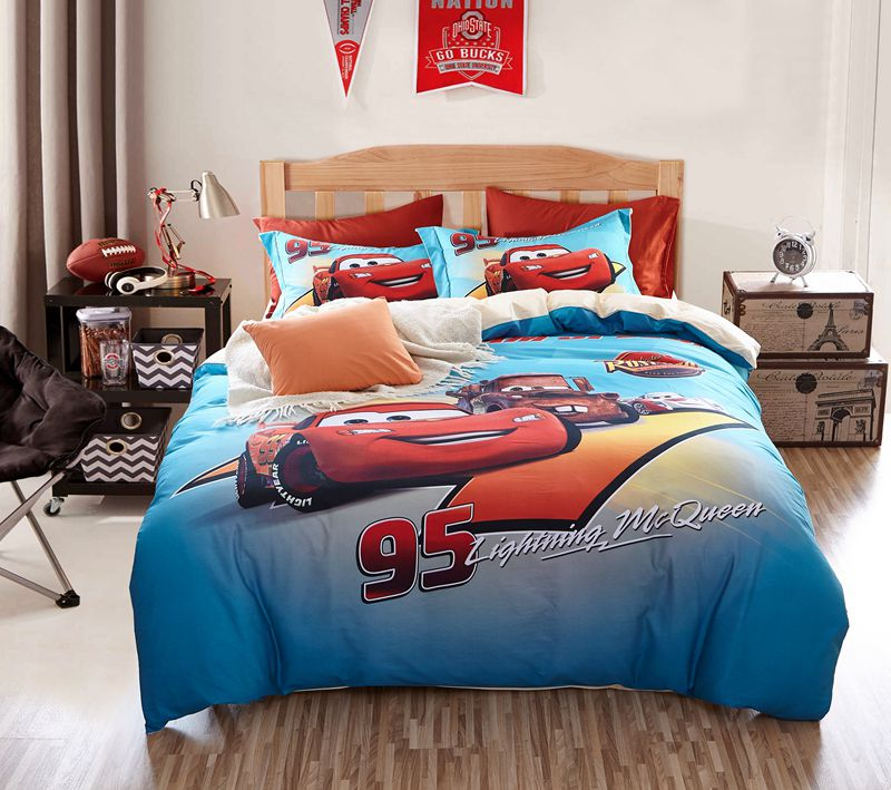 Image of: Cars Bedding Set Theme
