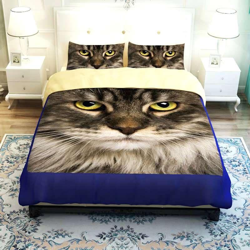 Image of: Cat Bedding Sets Idea
