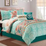 Charming Blue And Green Bedding Sets
