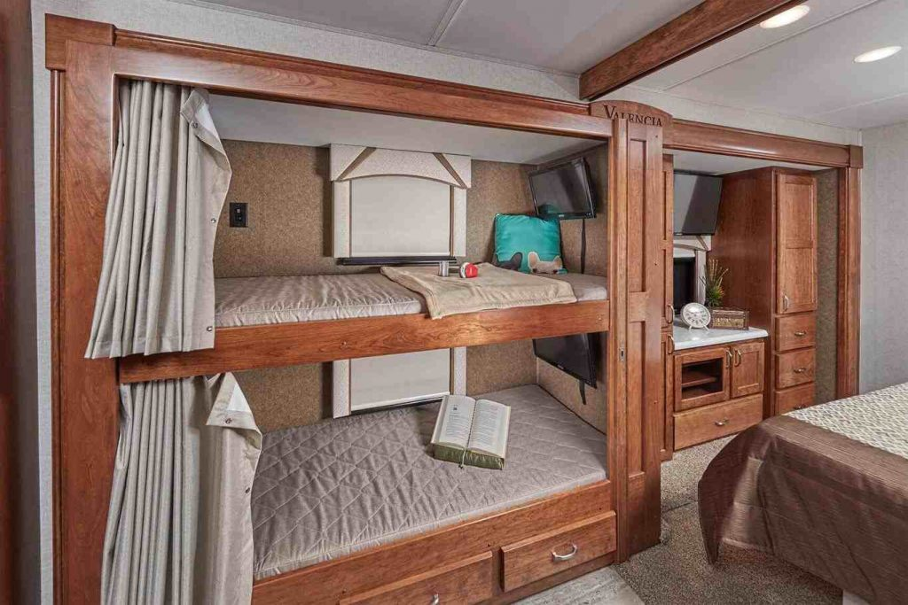 Image of: Class A Rv With Bunk Beds