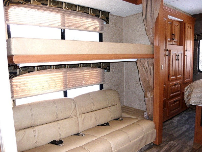 Image of: Class C Rv With Bunk Beds