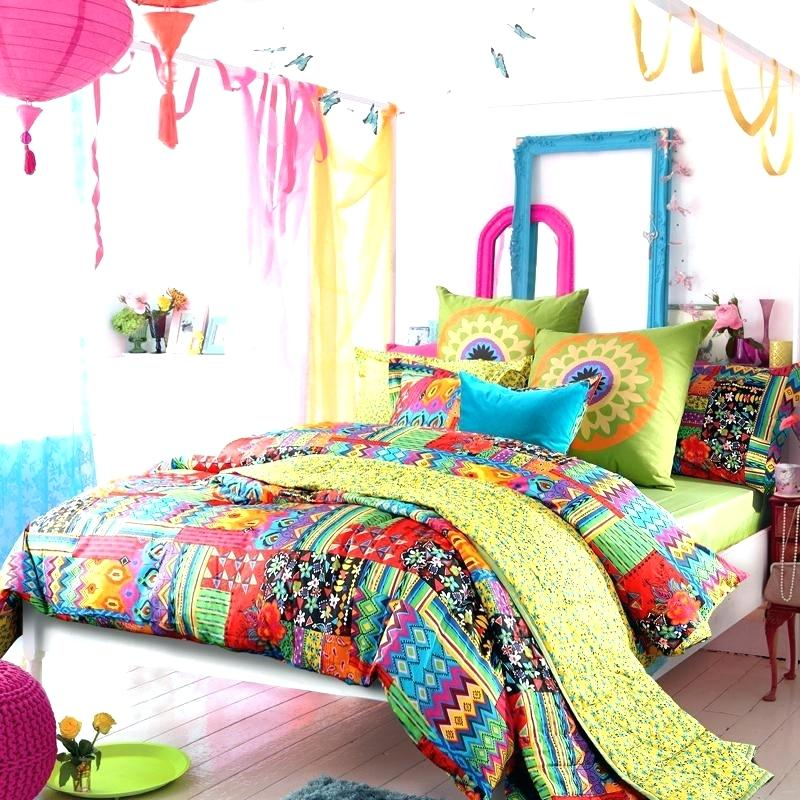 Colorful Bedding Sets Boho
