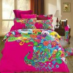 Colorful Bedding Sets Pink