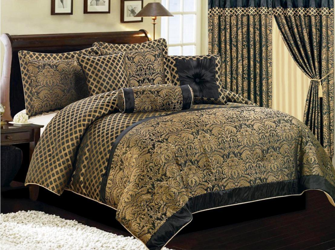 Image of: Contemporary Luxury Bedding Style