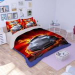 Cool Cars Toddler Bed Set