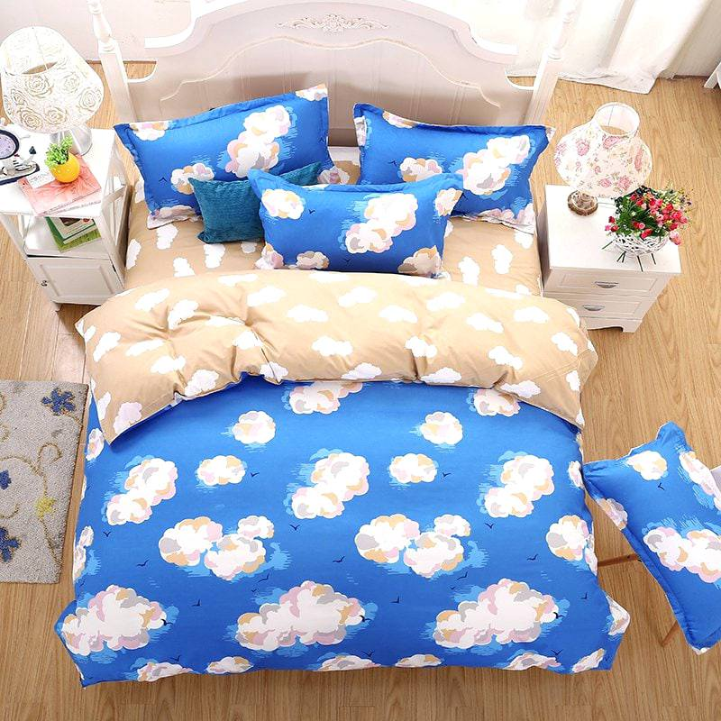 Image of: Cool Cloud Bedding Set