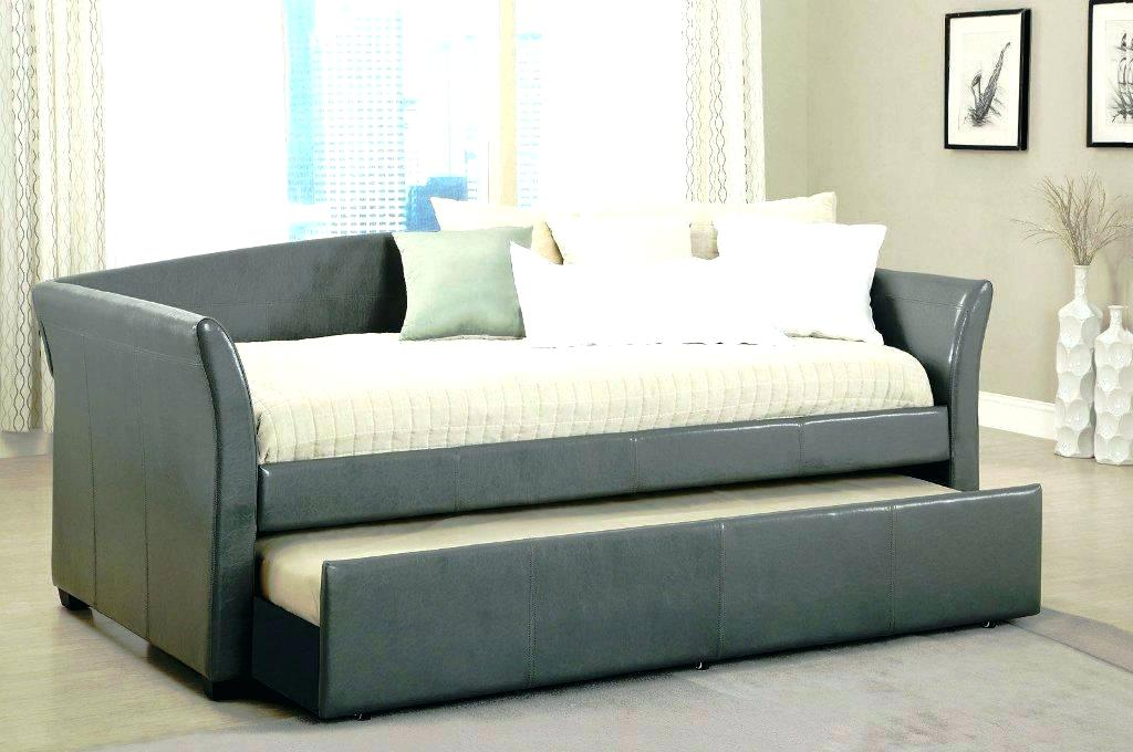 Image of: Cool Daybed With Pop Up Trundle Bed
