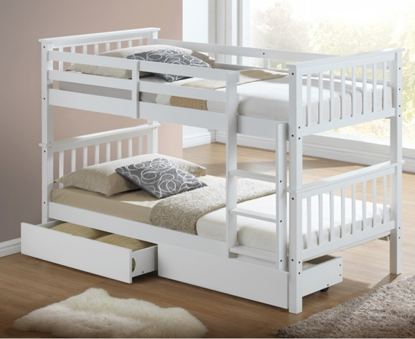 Image of: Cool Single Bunk Bed