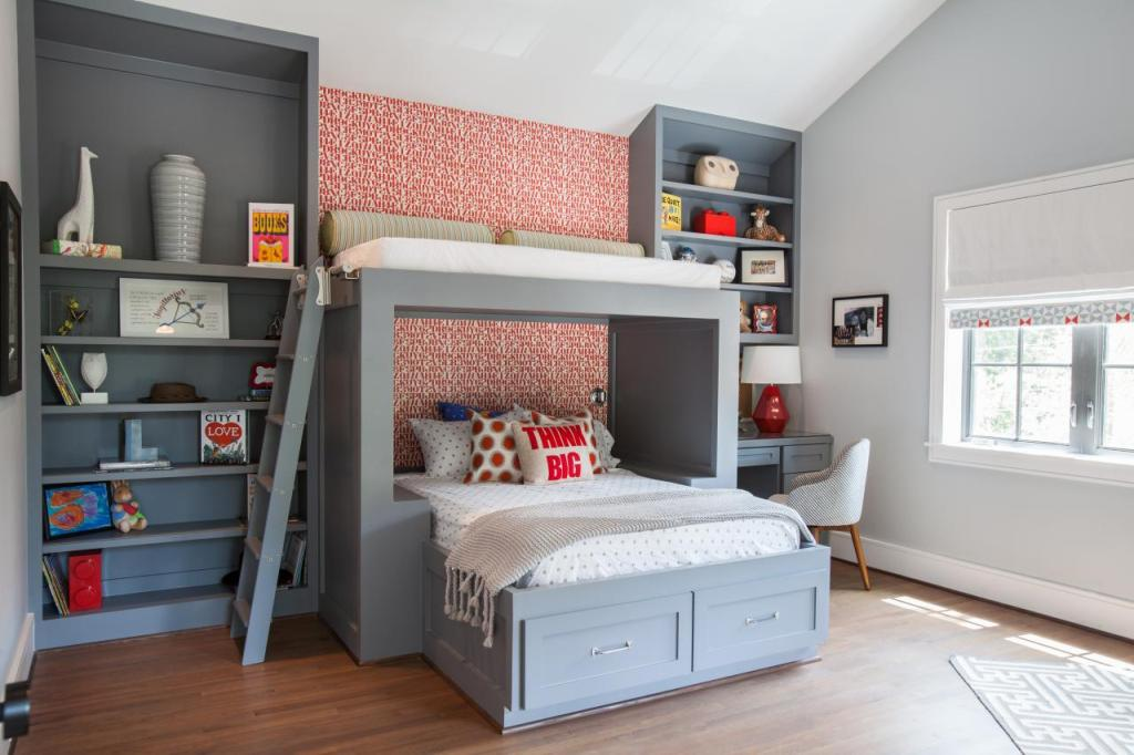 Image of: Cool Teen Loft Bed
