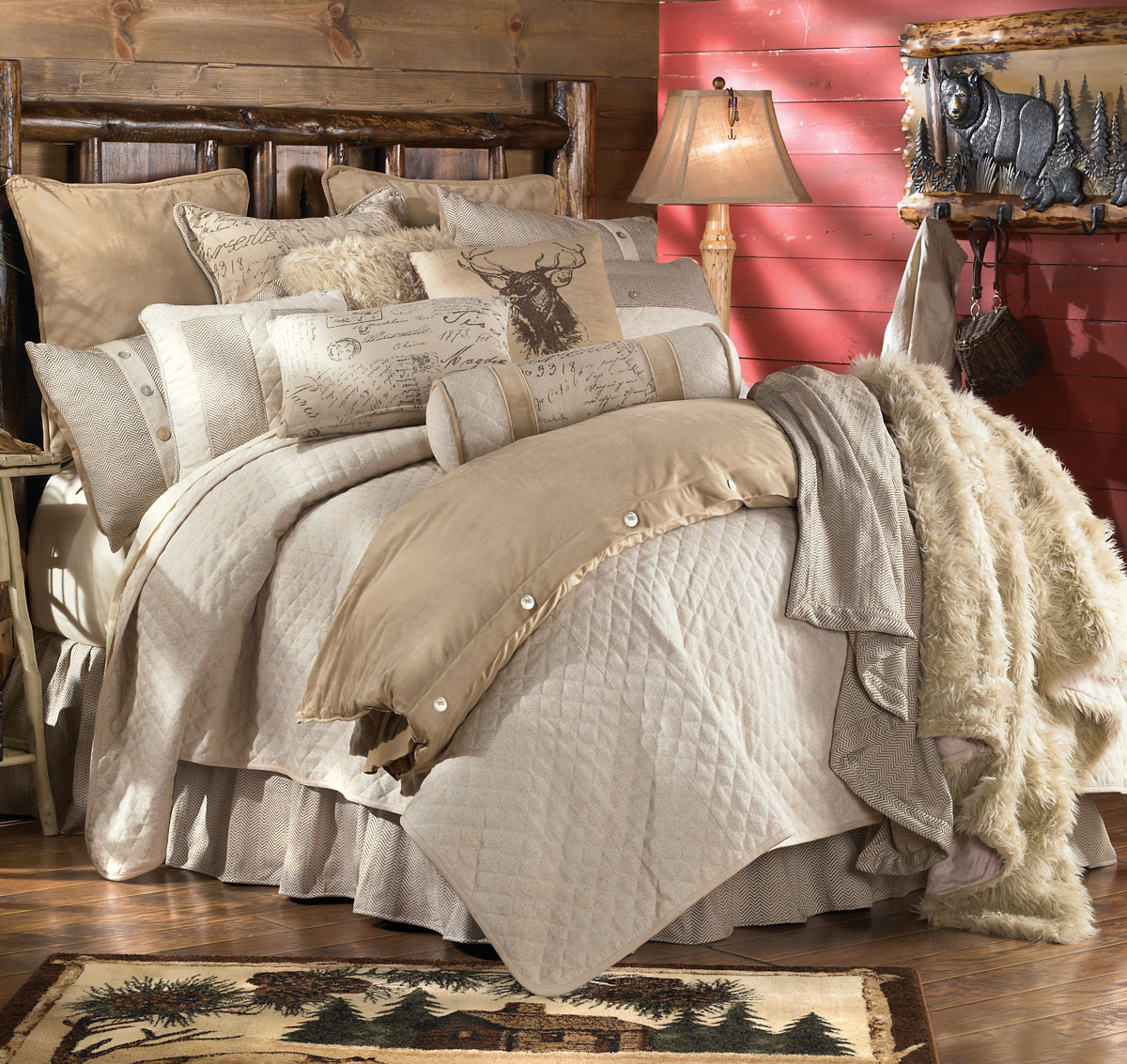 Image of: Country Bed Sets Design
