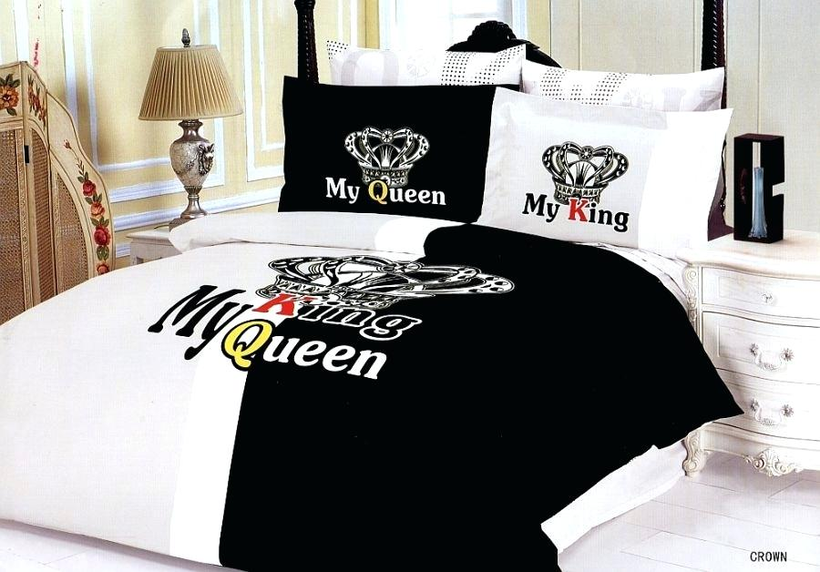 Image of: Couples Bedding Set King