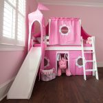 Curtain Set For Loft Bed Pink