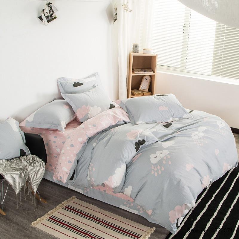 Image of: Cute Cloud Bedding Set