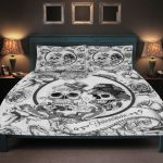 Day of the Dead Bed Set Idea