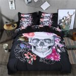 Day of the Dead Bed Set King