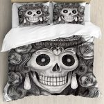 Day of the Dead Bed Set Theme