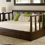 Daybed With Pop Up Trundle Bed And Storage