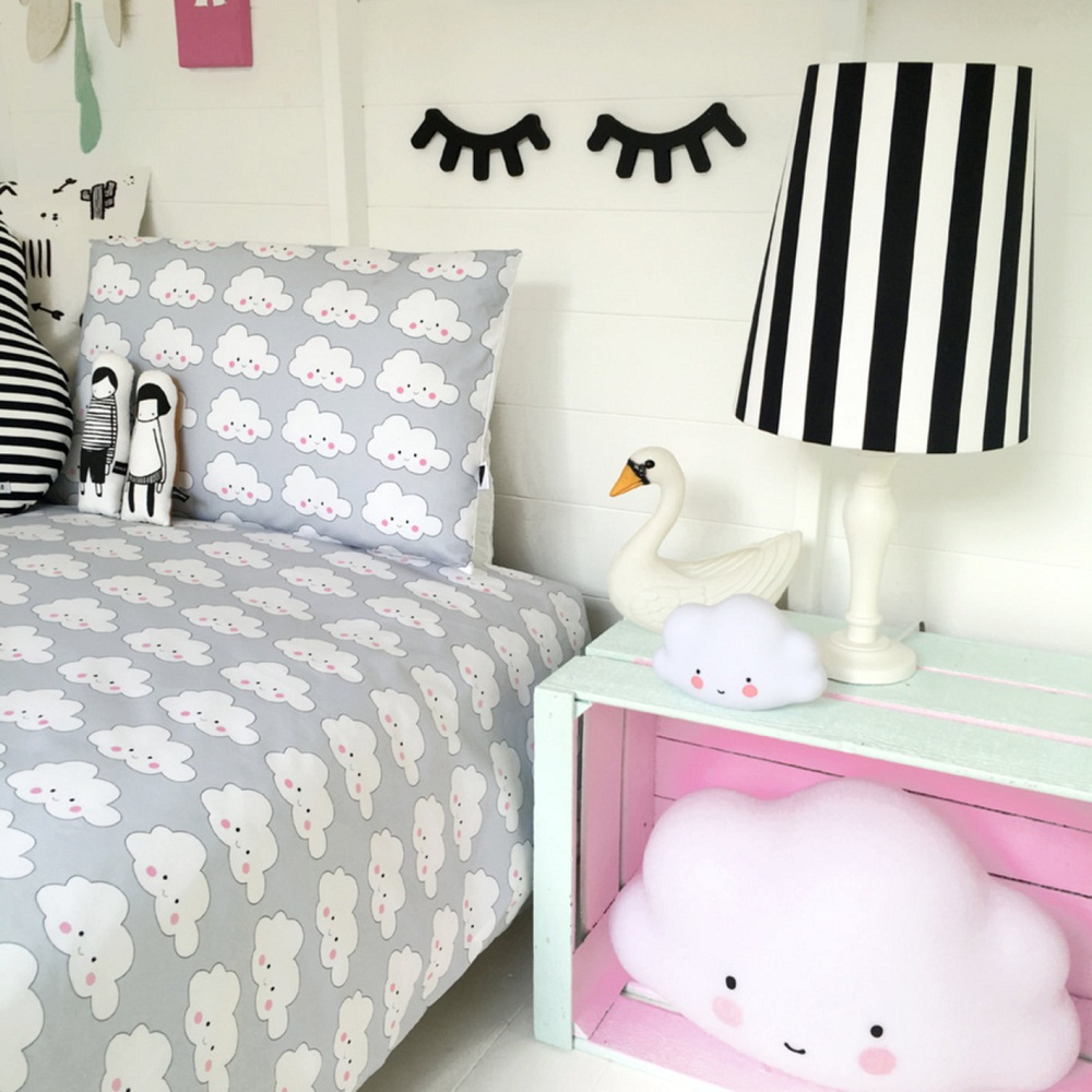 Image of: Design Cloud Bedding Set
