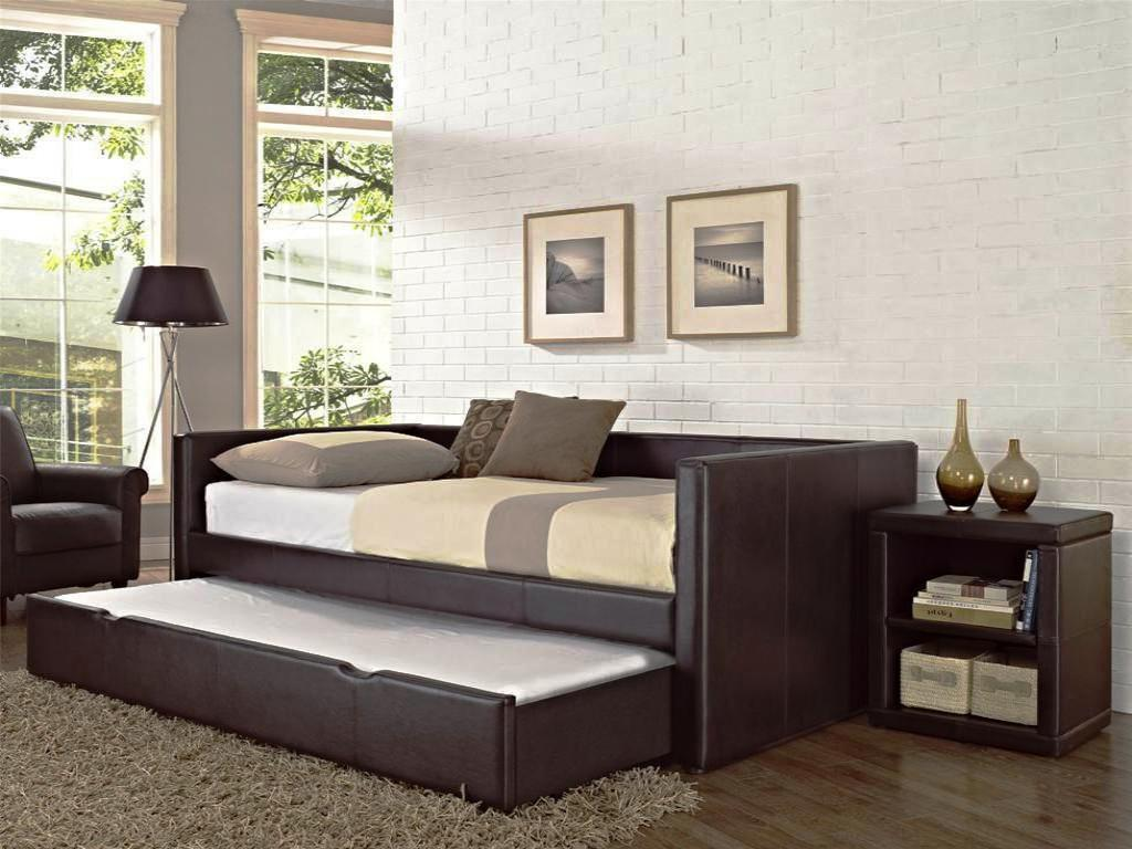 Image of: Design Trundle Day Bed