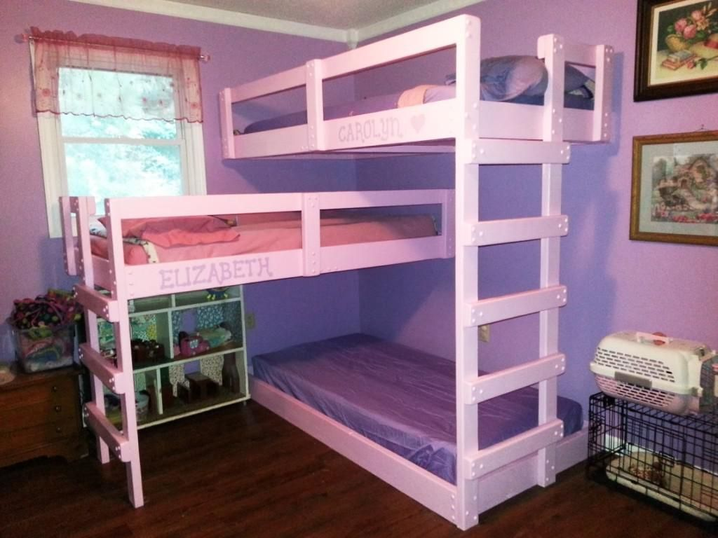 Image of: Dimensions for a Triple Bunk Bed IKEA