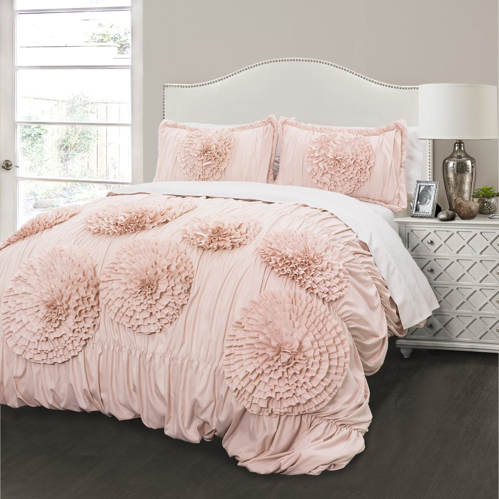 Image of: Elegant Blush Pink Bedding Sets