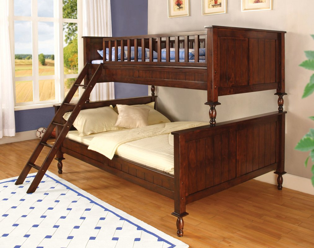 Image of: Elegant Queen Bunk Beds for Adults