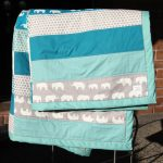 Elephant Baby Girl Bedding Color
