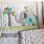 Elephant Baby Girl Bedding Theme