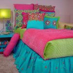 Etnic Blue And Green Bedding Sets