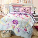 Floral Bed Set Blue