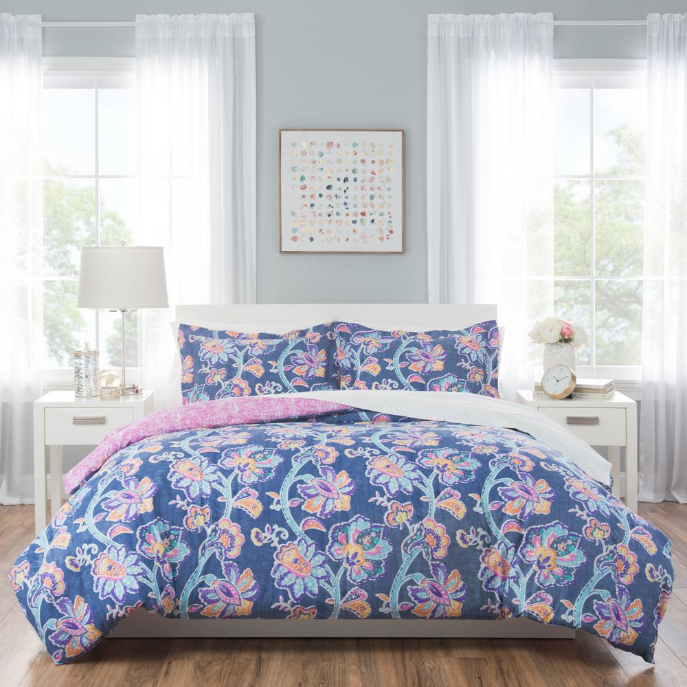 Image of: Floral Bed Set Color