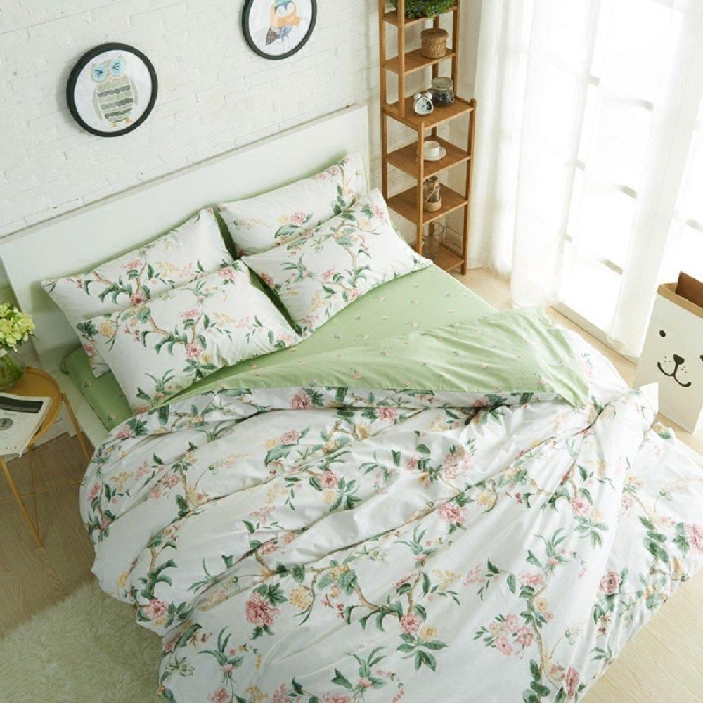 Image of: Floral Bed Set Rustic